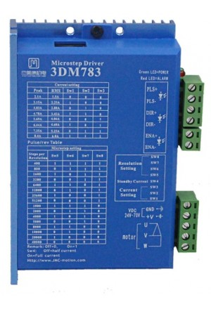 3-Phase Stepper Motor Driver (Part Number SMD-3DM783)